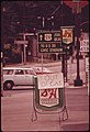 """Out of Gas"" Signs Have Cropped Up All over the Portland Area Since the Start of the Fuel Shortage 06-1973 (4271653593).jpg"