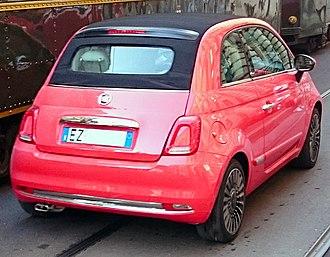 Fiat 500 (2007) - 500C facelift