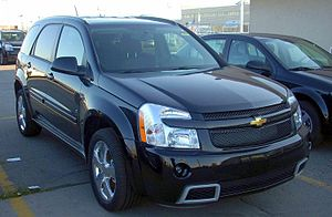 2008 Chevrolet Equinox Sport photographed in M...