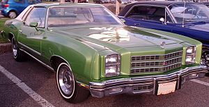 Chevrolet Monte Carlo - 1977 Chevrolet Monte Carlo