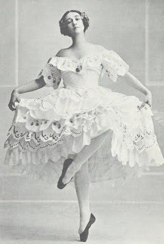 Tamara Karsavina - Image: 'Les Papillons' 1912