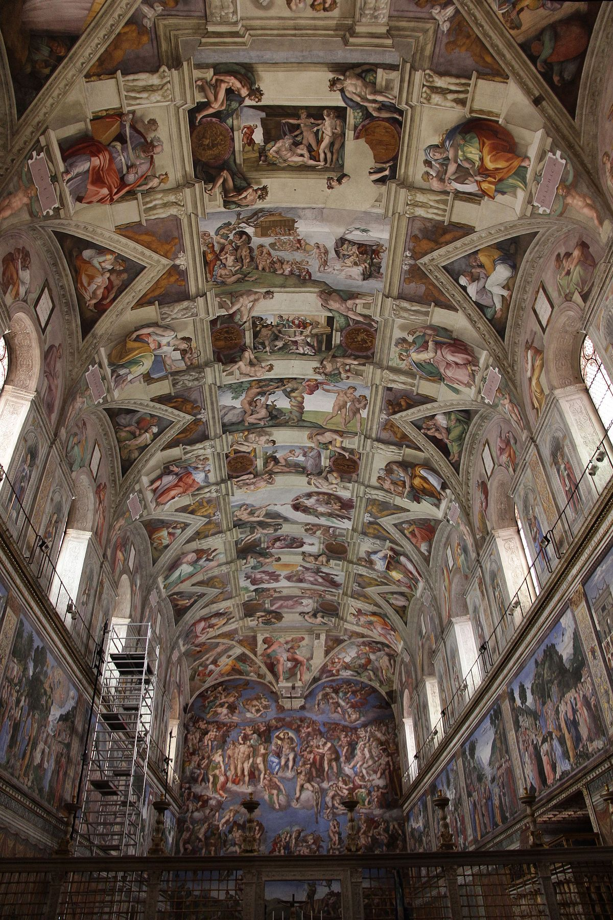 File Sistine Chapel Ceiling By Michelangelo Jbu21 Jpg