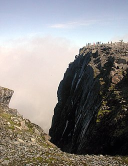 'Staring into the abyss' - geograph.org.uk - 1588241