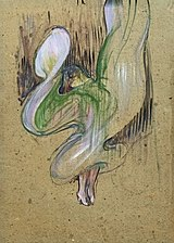 (Albi) - La Loïe Fuller aux-Folies-Bergère - Toulouse-Lautrec (1893) MTL.152.jpg