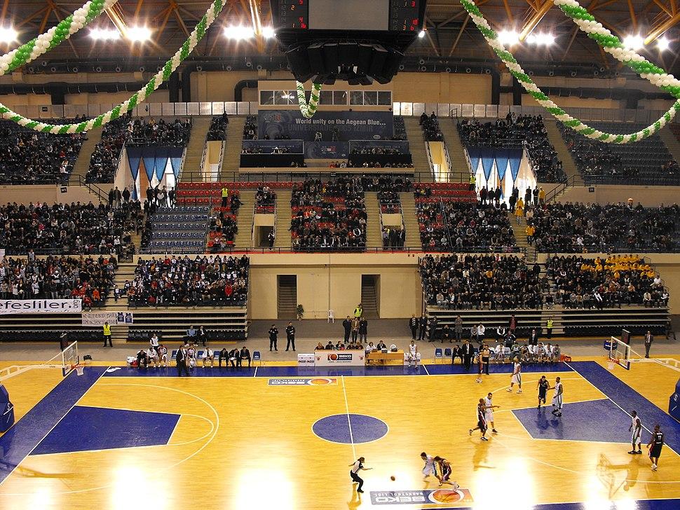 İzmir Halkapınar Sport Hall Bornova-Efes