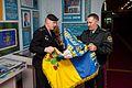 Бойовий прапор Керченської бригади НГУ переданий до Центрального музею НГУ 9697 (26317530481).jpg
