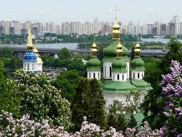 Видубицький монастир (Київ), © Микола Виноградов, CC-BY-SA 4.0