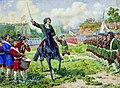 Военные игры потешных войск Петра I под селом Кожухово.jpg