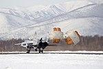 Выполнение групповых полетов экипажами истребителей Миг-31 в рамках плана боевой подготовки (аэр.Елизово, п-ов Камчатка) (8).jpg