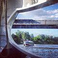 Два последних теплохода на подводных крыльях Ракета в Европе, у моста нового Ленинградского шоссе (9025821061).jpg