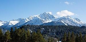 Teberda Nature Reserve - Mount Dombay