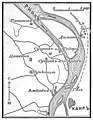 Карта-схема к статье «Пирамиды». Военная энциклопедия Сытина (Санкт-Петербург, 1911-1915).jpg