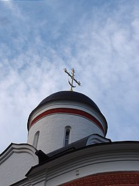 Купола собора, Собор Николая Чудотворца, Николо-Пешношский монастырь.jpg