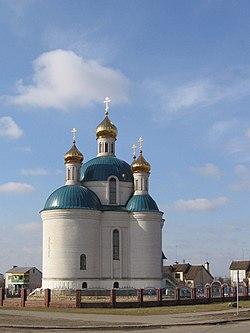 Матыкалы, царква Св. Ганны, бок (пасля 1990) - Matykaly, Church of St. Anna, side (after 1990) - panoramio.jpg