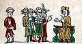 Славянин, саксы, франк и еврей из Саксонского зерцала.jpg