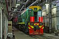 ТЭМ18ДМ-3073, Russia, Bryansk region, Bryansk Engineering Plant (Trainpix 138726).jpg
