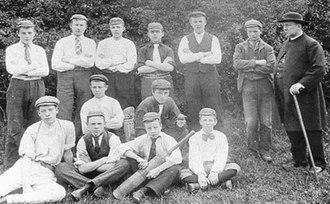 Thorpe Arnold - Thorpe Arnold Cricket club in 1902