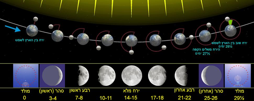 מופעי הירח