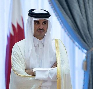 Tamim bin Hamad Al Thani Emir of Qatar