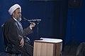 سخنرانی علیرضا پناهیان در جمع هیئت های مذهبی در قصر شیرین به مناسبت بیست و دوم بهمن ماه Alireza Panahian 30.jpg