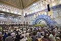 عکس های مراسم ترتیل خوانی یا جزء خوانی یا قرائت قرآن در ایام ماه رمضان در حرم فاطمه معصومه در شهر قم 33.jpg