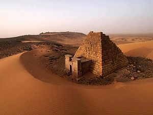 Shendi - Pyramids near Shendi