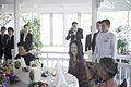 คณะภริยารับประทานอาหารกลางวันในบรรยากาศสบายๆ นางพิม - Flickr - Abhisit Vejjajiva (2).jpg