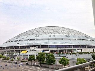Vantelin Dome Nagoya Baseball stadium located in the city of Nagoya, Japan