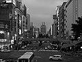 愛宕上杉通 バスプール前, Atagokamisugi str. - panoramio.jpg