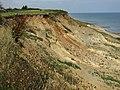-2018-08-22 Eroding cliffs above Trimingham beach (5).JPG