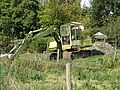-2018-10-08 Hymac excavator, Bacton Wood staithe, North Walsham and Dilham Canal (1).JPG