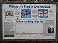 -2019-01-04 Information sign, Overstrand flag pole.JPG