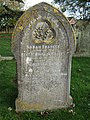 -2019-11-13 Headstone of Sarah Frances Romaine Covett, Trimingham churchyard.JPG