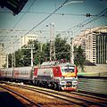 -RZD EP20-014 at today morning. Moscow. (9536528520).jpg