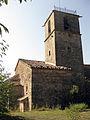 001 Santa Maria de Lluçà, façana nord, campanar.jpg