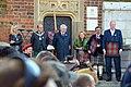 02017 0385 Krakau bekommt seinen Tartan, The Lord Provost of Edinburgh Frank Ross, Mayor of Kraków Jacek Majchrowski.jpg