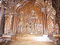 020 Lanmeur Eglise paroissiale Chaire à prêcher Vie de saint Mélar 2.JPG