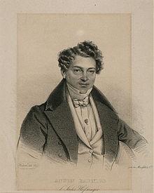Anton Babnigg, Lithografie von Josef Kriehuber (1800–1876) (Quelle: Wikimedia)