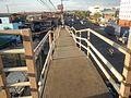 0761jfPedestrian footbridge C-2 Capulong Marcos Road Radial Road 16 Tondo Manilafvf.jpg