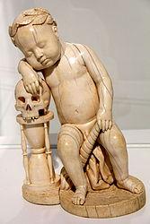 Circle of Leonhard Kern: Sleeping Child