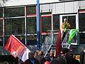 1. Mai 2013 in Hannover. Gute Arbeit. Sichere Rente. Soziales Europa. Umzug vom Freizeitheim Linden zum Klagesmarkt. Menschen und Aktivitäten (012).jpg