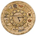 12 tribes clock in the western wall.jpg