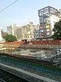 130629 台中火車站2B月台南望_高架化工程 - panoramio (1).jpg