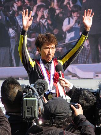 Masayoshi Ebina - Image: 147th Tennosho spring (25 Ceremony 11 Masayoshi Ebina 03) IMG 2676 20130428