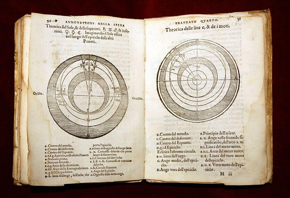1550 SACROBOSCO Tractatus de Sphaera - (16) Ex Libris rare - Mario Taddei