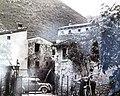 15 riproduzione di foto d'epoca (anno 1950) della corte nelle vicinanze del mulino di Bellori.jpg