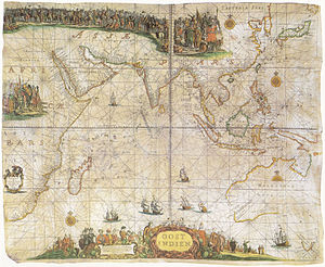Pieter Goos - Pieter Goos' map of the East Indies (1660)