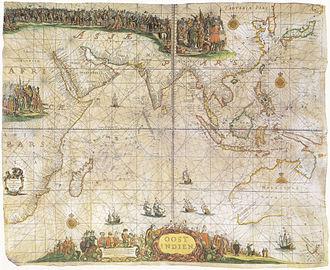 Pieter Goos - Pieter Goos' map of the East Indies (1660)