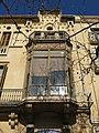 167 Casa Serdà Ros, rbla. Sant Francesc 15 (Vilafranca del Penedès), tribuna.jpg