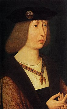 16th-century unknown painter - Portrait of Philip the Handsome - WGA23598.jpg